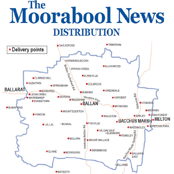 The Moorabool News - Delivery Coverage Map