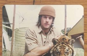 Mr Prendergast at the Bacchus Marsh Lion Zoo, aged 16 Photo - submitted