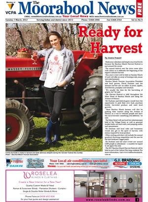 The Moorabool News front cover - 7th March 2017