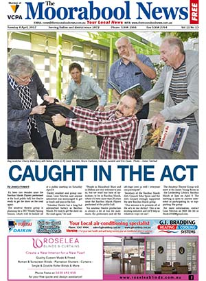 The Moorabool News front cover - 4th April 2017