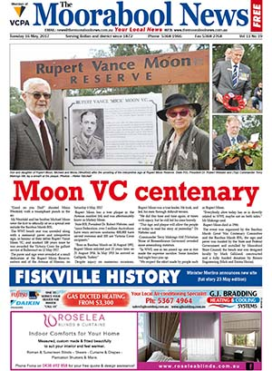 The Moorabool News front cover - 16th May 2017
