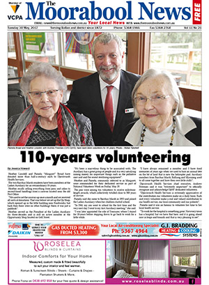 The Moorabool News front cover - 30 May 2017