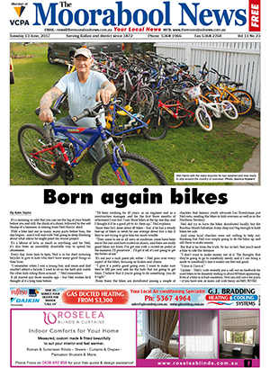 The Moorabool News Front Cover 13 June 2017