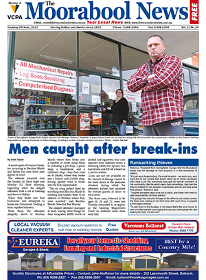 The Moorabool News front cover 20 June 2017