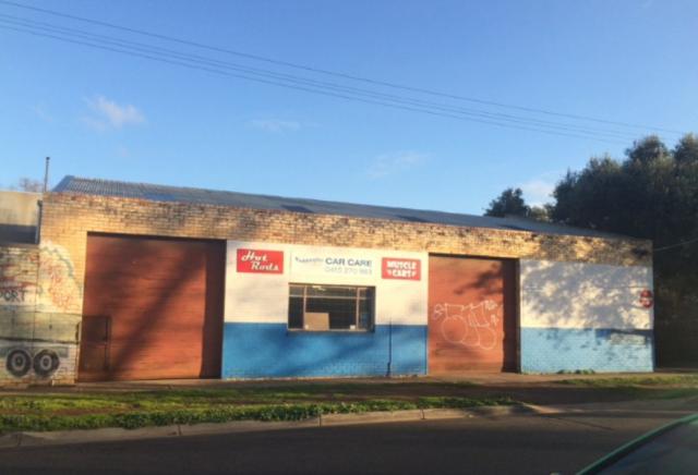The former Maddingley Car Care workshop