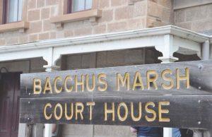 craig jones, bacchus marsh magistrate court, bacchus marsh police