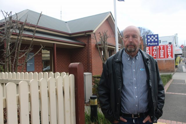 Mark Peirce, the owner of the seven dead alpacas, reported the incident to local police and council Photo - Jessica Howard