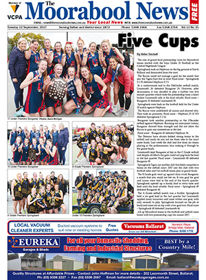 The Moorabool News 12 Sept 2017