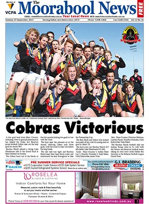 The Moorabool News 19 September 2017