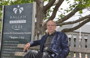 Dr David Llewellyn will serve Ballan District Health and Care for another five years