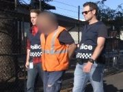 victoria police, wool theft, laverton
