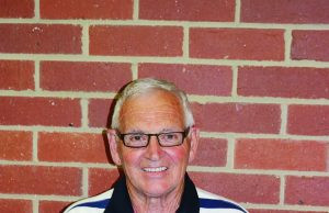 Graeme Stewart with his medal for 62-years as a volunteer with the Darley FNC. Photo - DFNC