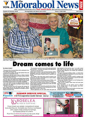 The Moorabool News 16 January 2018