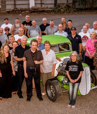 Marsh Rodders members and recipients of the $9000 in donations. Photo - Greg Forster – Caprice Photography
