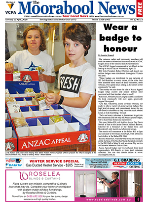 The Moorabool News 10 April 2018