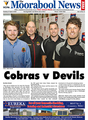 The Moorabool News 17 April 2018