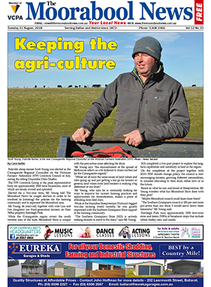 The Moorabool News 21 August 2018
