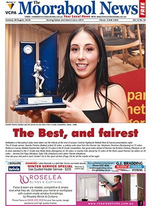 The Moorabool News 28 August 2018