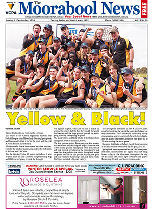 The Moorabool News 11 September 2018