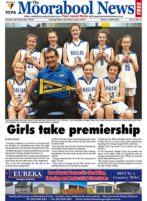 The Moorabool News 18 September 2018