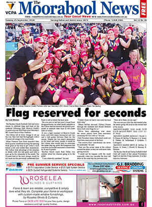 The Moorabool News 25 September 2018