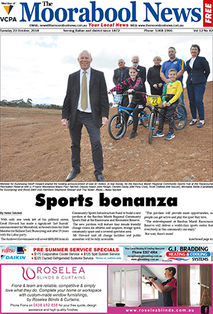 The Moorabool News 23 October 2018