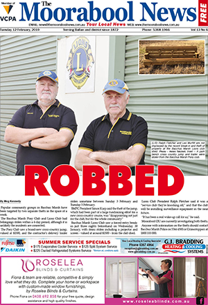 The Moorabool News 12 February 2019