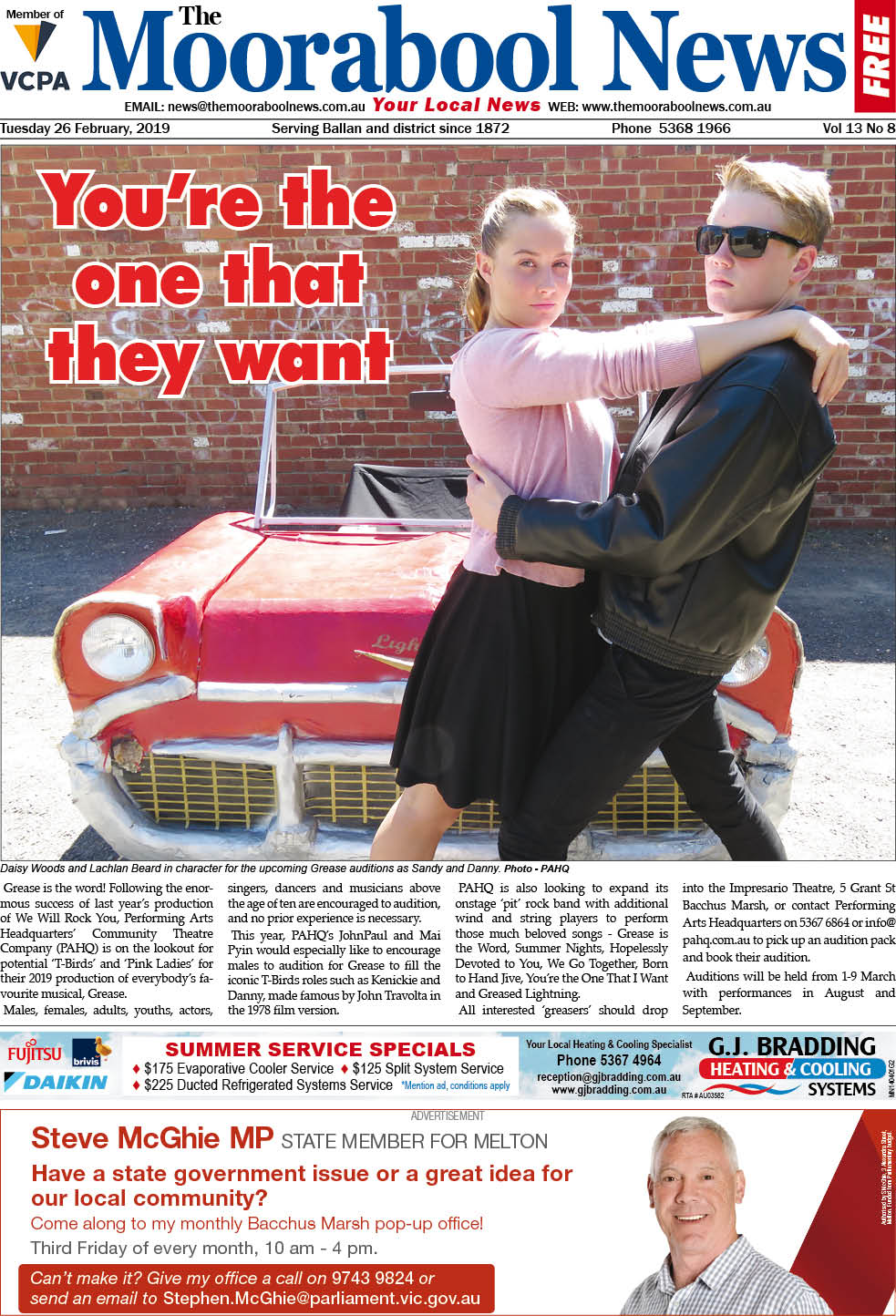 The Moorabool News 26 Feb 2019