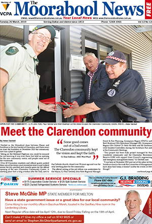 The Moorabool News 26 March 2019