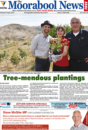 The Moorabool News 23 April 2019