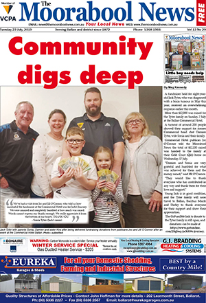 The Moorabool News 23 July 2019