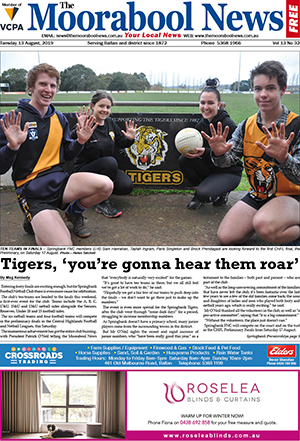 The Moorabool News 13 August 2019