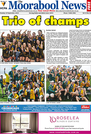 The Moorabool News 10 September 2019
