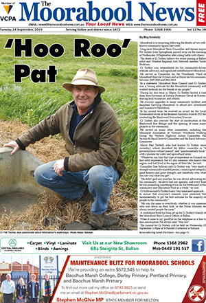 The Moorabool News 24 September 2019
