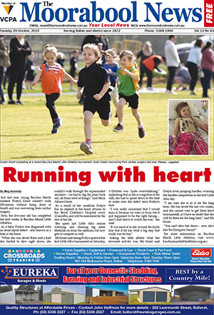 The Moorabool News 29 October 2019