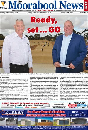 The Moorabool News 26 November 2019