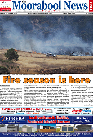 The Moorabool News 14 January 2020