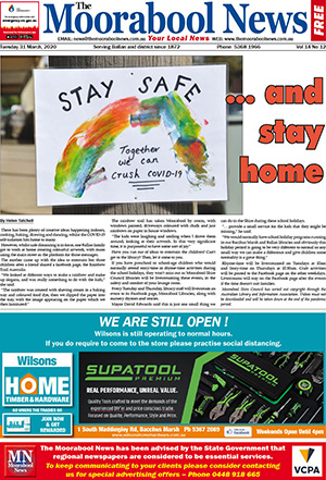 The Moorabool news 31 March 2020