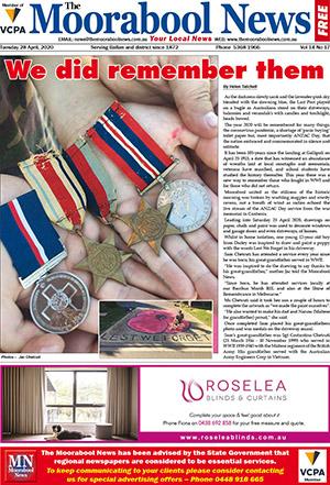The Moorabool News 28 April 2020