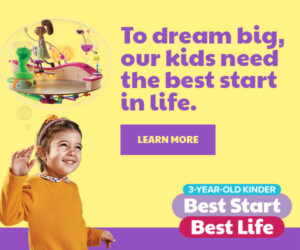 Dept of Education Best Start Best Life 3YO Kinder Ad