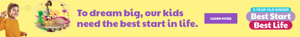 Dept of Education Best Start Best Life 3YO Kinder Ad