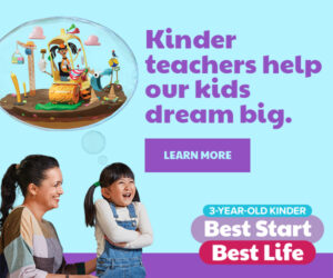 Best Start Best Life 3YO Kinder Ad